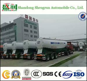 45cbm Cement Tanker in Kazakhstan Dry Bulk Cement Tank Trailer