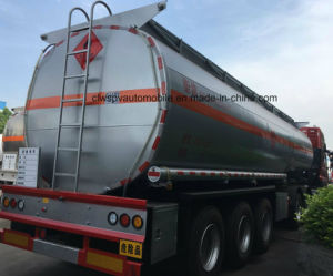 4 Axles Oil Transport Steel Fuel Tanker 60, 000 Liters Semi Trailers pictures & photos