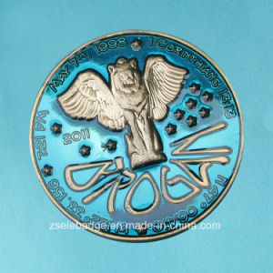 3D Transparent Enamel Promotional Souvenir Coin (Ele-C099) pictures & photos