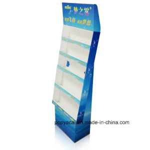 Single Wall Cardboard Display, Paper Exhibition Display, Promotion Display pictures & photos