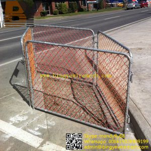 Chain Link Temporary Fence Iron Fence Crowd Control Barrier Mesh Fencing pictures & photos