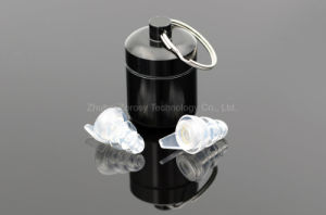 OEM Organic Silicone Earplugs with Filter pictures & photos