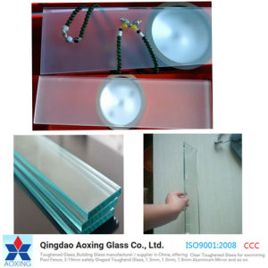 Clear/Frosting/Frosted Toughened/Tempered Glass for Building/Door/Home pictures & photos