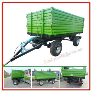 Agriculture Tractor Mounted Dumping Trailer pictures & photos