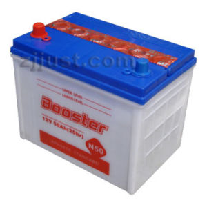 N50 12V50ah OEM Availavle Acid Dry Cell Car Battery pictures & photos