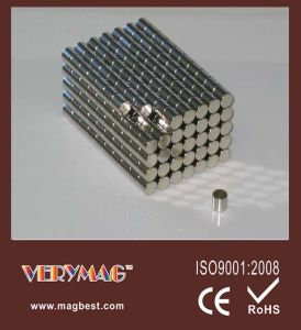 Permanen Strong Cyliner Magnet Size: 10mm X 10 Mm