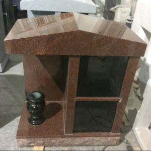 Indian Red Granite 2 Niche Private Columbarium pictures & photos