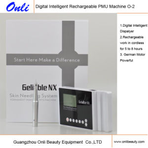 High Quality Onli Digital Permanent Makeup Tattoo Machine with LCD Displayer O-2 pictures & photos