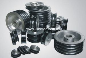 Ceramic Coating for Wire Guide Pulley-9/Aluminium Idler Pulley pictures & photos