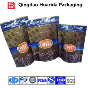 Stand up Coffee Pouch Tea Packing with Zipper and Valve pictures & photos