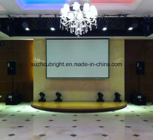 80 Inch 84 Inch Electric Projection Screen Projector Screen