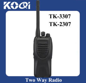 in Time Delivery Tk-3307 VHF 400-520MHz Handheld 2-Way Walkie Talkie pictures & photos