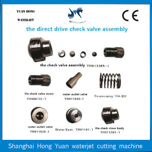 Abrasive Water Jet Cutting Check Valve Assy No. 013385-1 pictures & photos