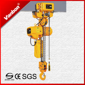 3ton Electric Trolley Type Electric Chain Hoist (WBH-03003DE) pictures & photos