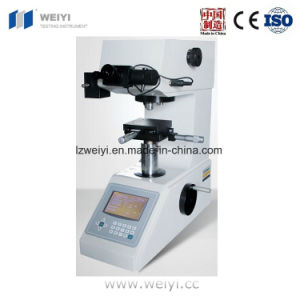 Hvs-1000 Digital Display Micro Vickers Hardness Tester for Specimen pictures & photos