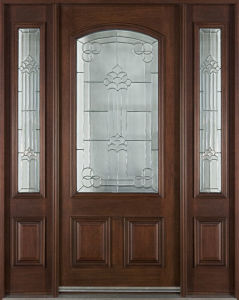 Quality Exterior Solid Wood Door pictures & photos