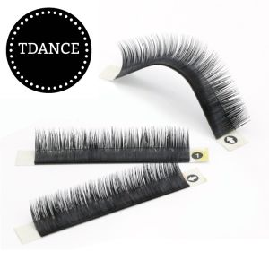 Lili Beauty Double Natural Private Label Eyelash Extension with Mixed Different Length for Custom Order pictures & photos
