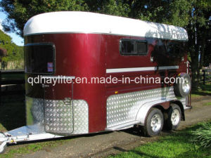 2 Horse Angle Load Float-Deluxe pictures & photos