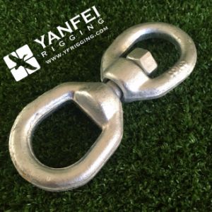 Galvanized Steel Eye and Eye Type Chain Swivel pictures & photos