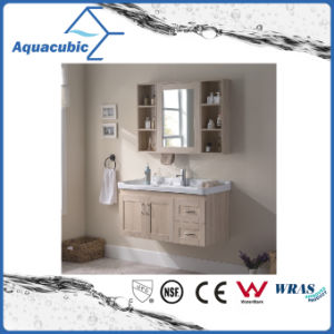 Wall-Mount Plywood Bathroom Cabinet with Melamine Surface (ACF8899) pictures & photos