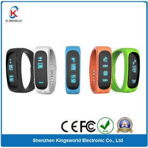 Smart Bluetooth Sport Bracelet with Pedometer Sport Sleeping Monitor Time Display Exercise Distance Function pictures & photos