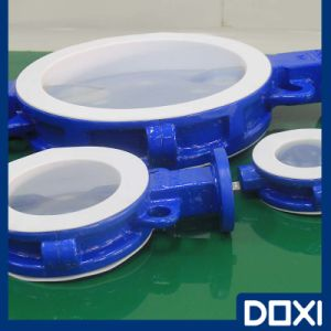 OEM Atex Teflon Lined Butterfly Valve pictures & photos