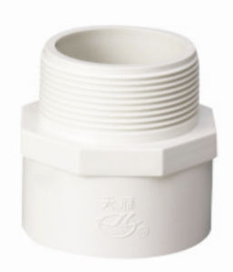 PVC Pipe Fittings for Water Supply Male Adapter (A13) pictures & photos