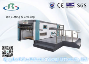 Flatbed Carton Box Creasing and Die Cutting Machine pictures & photos