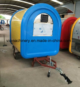 Europe Standard Fast Food Trailer with Best Quality pictures & photos