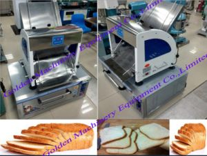 Stainless Steel Automatic Bread Slicer Slicing Bread Cutting Machine pictures & photos