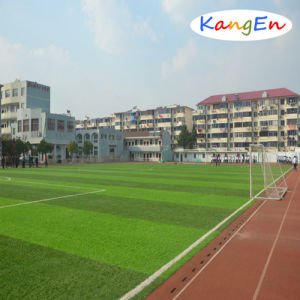 Synthetic Turf for Football/Soccer Field with Two Color Grass pictures & photos