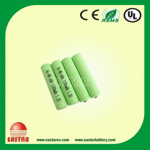 Ni-MH AAA 1.2V 1000mAh Battery Cell pictures & photos