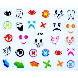 3D DIY Kids Nail Art Sticker pictures & photos