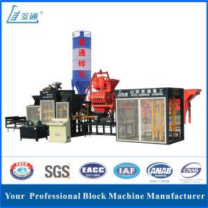 Automatic Concrete Brick Block Making Machine (LTQT10-15)