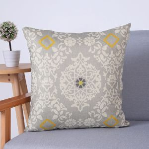 Digital Print Decorative Cushion/Pillow with Geometric Pattern (MX-60) pictures & photos