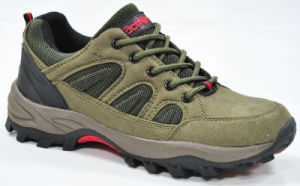 Suede Leather Men Outdoor Climbing Hiking Shoes