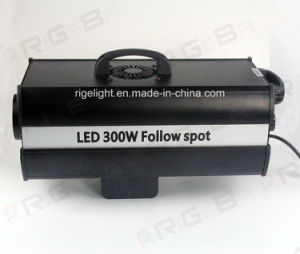 Aperture Size Adjustable 300W LED Follow Spot Light for Wedding Stage Equipment pictures & photos