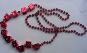Casino Bead Necklace