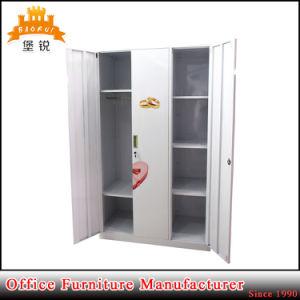 Bedroom Furniture Metal 3 Doors Wardrobes pictures & photos