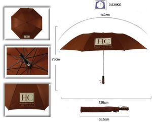 28 Inch Promotional Foldable Golf Umbrella pictures & photos