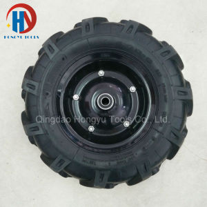 Tractor/Agricultural Tire Wheel Barrow (4.00-8 4.00-10) Pneumatic Rubber Wheel pictures & photos