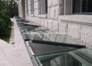 Auto Skylight with Double Hollow Glass Built in Honeycomb Shades for Sunlight Room Roof pictures & photos