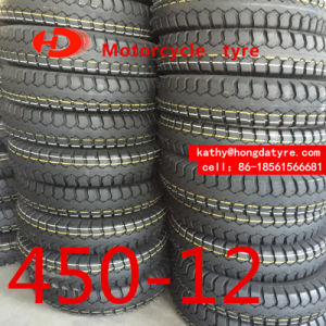 ISO9001 Factory ECE Certificate Stock Low Price Motorcycle Tyre Motorcycle Tire Chinese Tyre Factory Supplier 450-12 500-12 pictures & photos