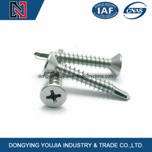 M17 Cross Recessed Countersunk Head Self Tapping Screw pictures & photos