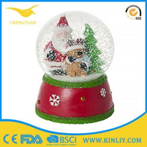 Wonderful Cartoon Custom Resin OEM Snowdome Snow Globe for Kid pictures & photos