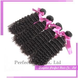 Express Unprocessed Raw Malaysian Deep Curly pictures & photos