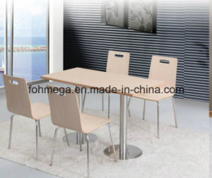HPL Food Court Dining Furniture Set (FOH-BC09) pictures & photos
