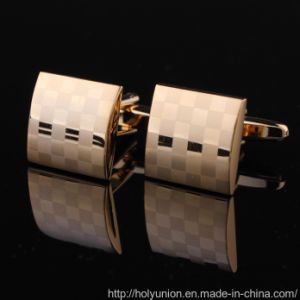 VAGULA Gold Clothing Cuff-Links Apparel Shirts Metal Cufflink pictures & photos