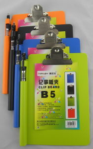 B5 Clip Board with Butterfly Clip (CB122)