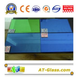 4mm, 5mm, 6mm, 8mm, 10mm Tinted Glass/Reflective Glass/Coated Glass Used for Curtain Wall pictures & photos